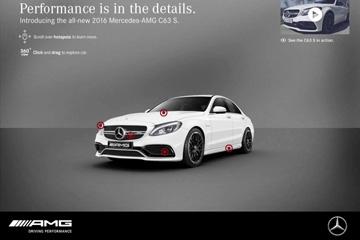 Mercedes-Benz canvas ad 2