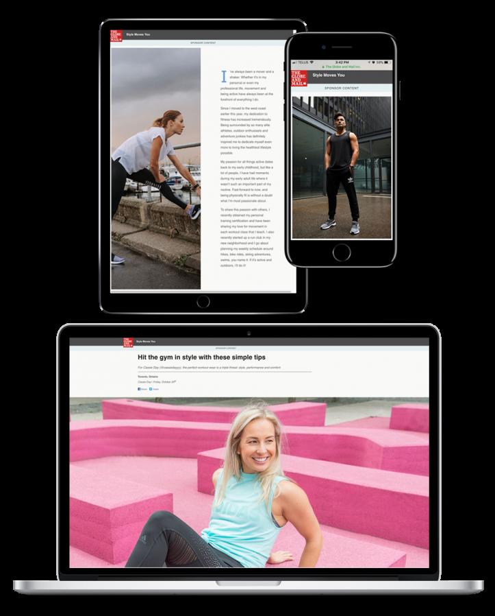 GlobeNative SportChek multiscreen