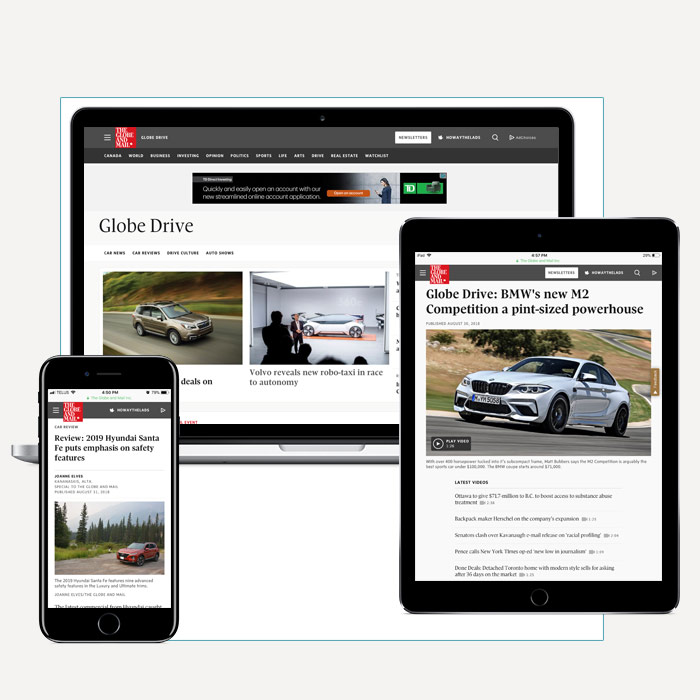 Automotive - category hub