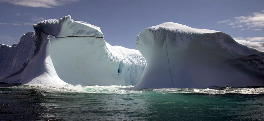 Newfoundland Tourism campaign brings icebergs to life for our readers