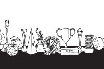 drawing of advertising awards