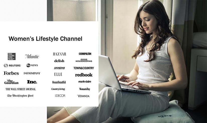 Alliance channel womenslifestyle