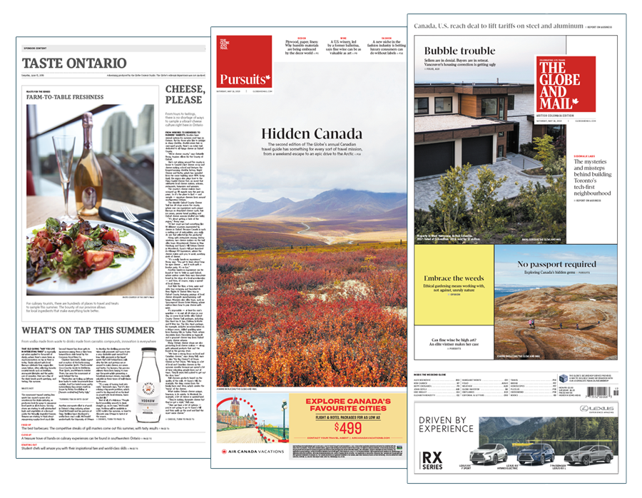 Newspaper-Canada-Travel-Special-Reports