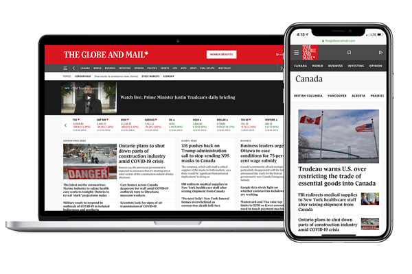The Globe and Mail covid-19 news, insights and opinion