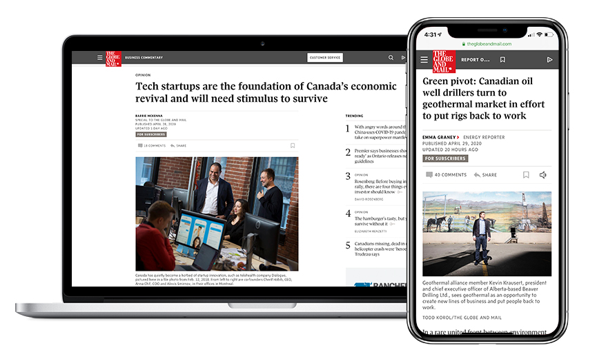 Report on Business is Canada's fastest growing business site