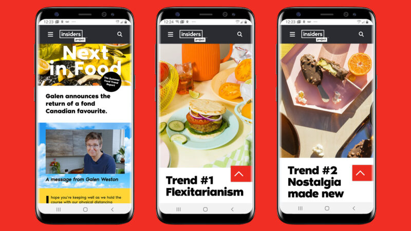 Globe Content Studio - PC Insiders Report next in food trends mobile experience