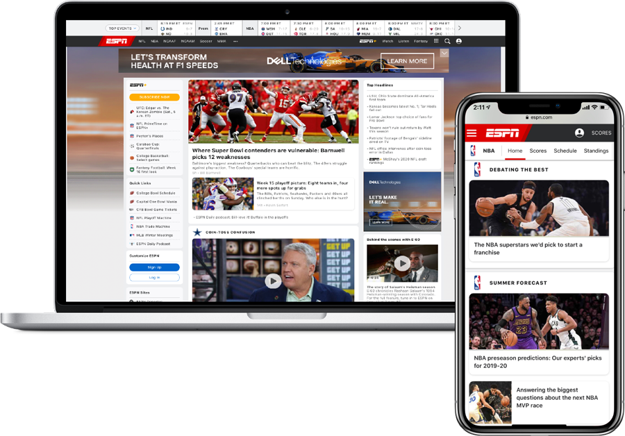 ESPN-on-devices