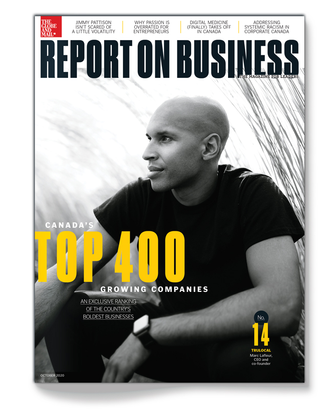 Report on Business magazine moves to Saturdays.