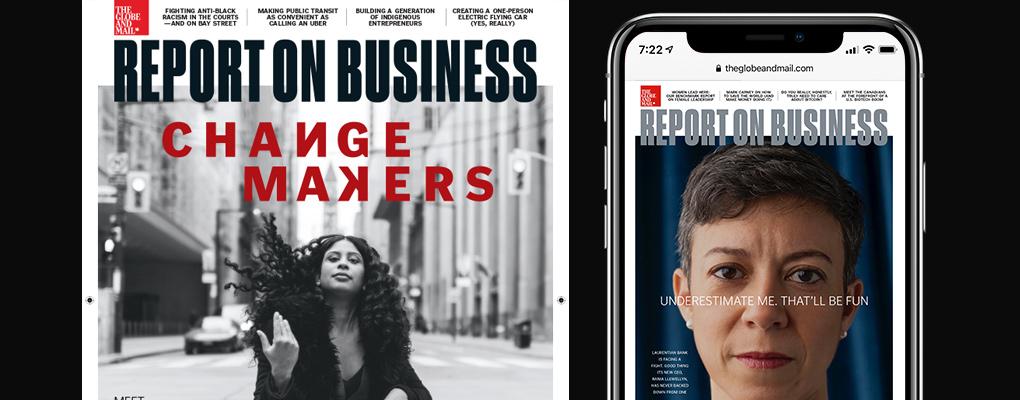 Report on Business Top Advisors issue November 2021