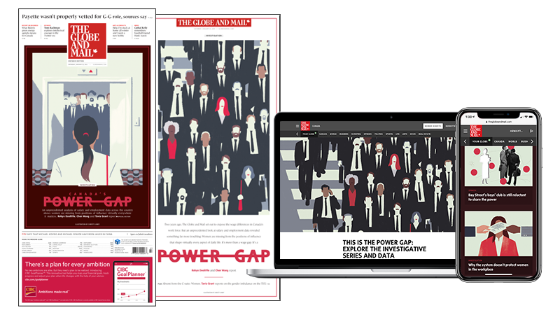 The Globe and Mail Power Gap