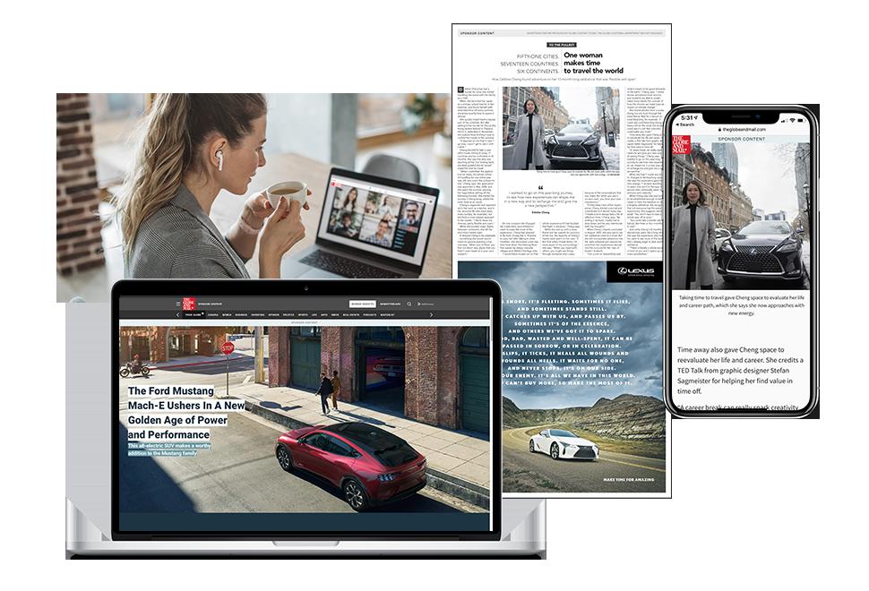 Globe Content Studio custom content programs