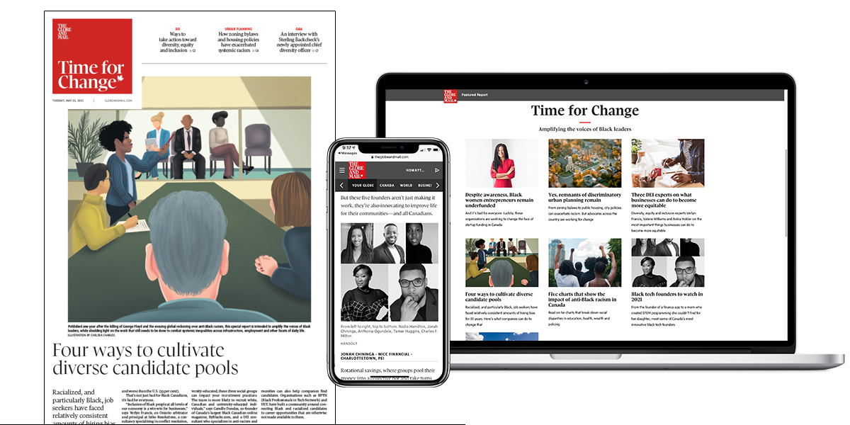 The Globe Time for Change Special Report