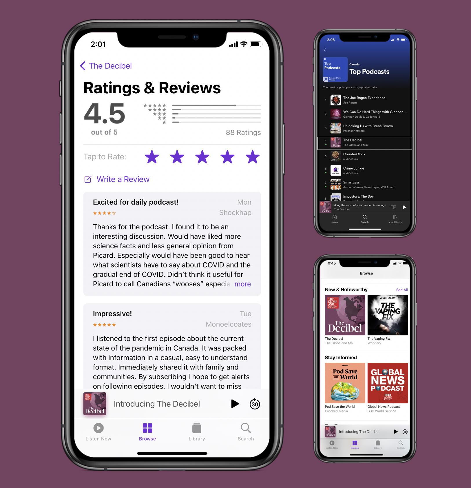The Decibel Podcast Sponsorship