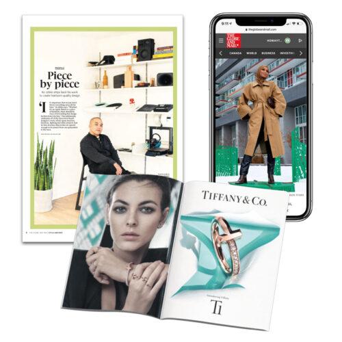 Globe Style Advisor in print and digital
