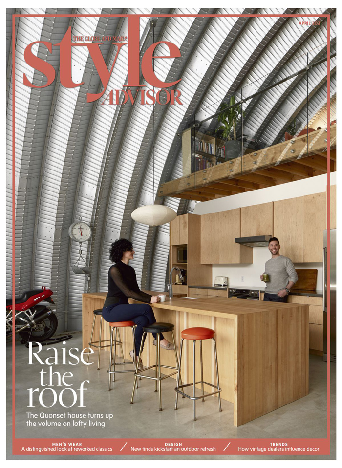 Globe Style Advisor magazine April 2021