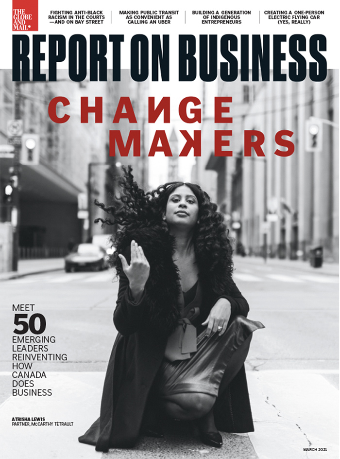 Report on Business magazine March2021