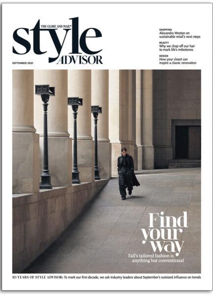 Globe Style Advisor magazine - September