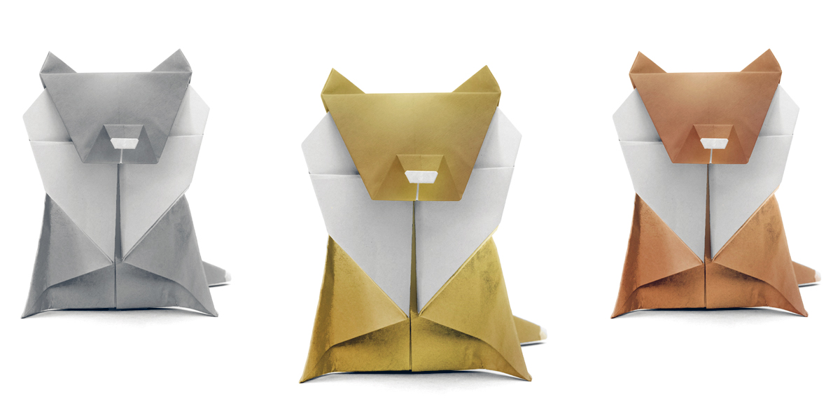 Cannes Origami Lions
