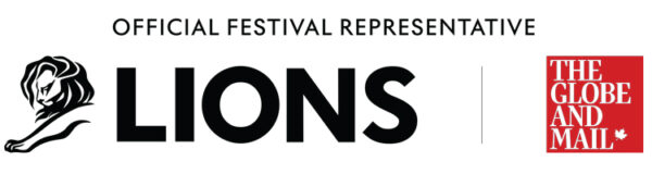 The Globe Official Cannes Lions representative logo